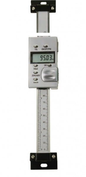 150mm Digital-Einbau-Messschieber, Senkrecht, DIN 862