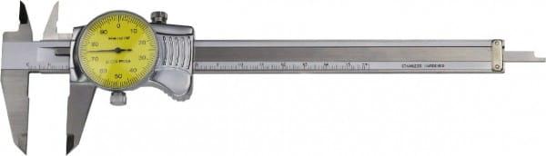 150mm Uhren-Messschieber, DIN 862, Top