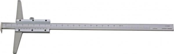 500mm Tiefen-Messschieber Mit Haken, DIN 862