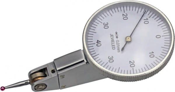 0,8mm Fühlhebelmessgerät Mit Rubin-Taster, Horizontal