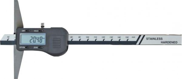 150mm Digital-Tiefen-Messschieber, DIN 862