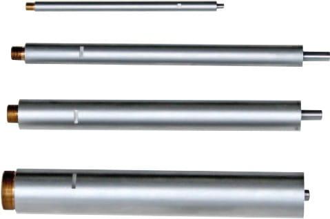100 x ø 5,7mm Verlängerungen Für Dreipunkt-Innen-Messschrauben
