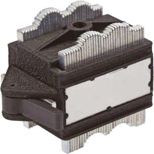 75 x 47 x 54mm Lamellen-Magnetfuss Für Messstative Mit Gewinde M8