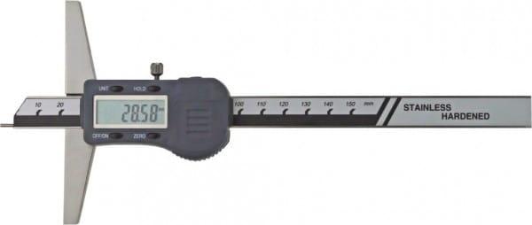 300mm Digital-Tiefen-Messschieber Mit Stiftspitze Ø 1,5 X 6 mm, DIN 862