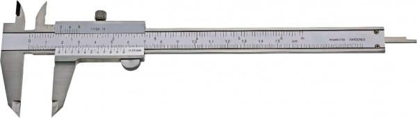 150mm Taschen-Messschieber Mit Feststellschraube, Top, DIN 862