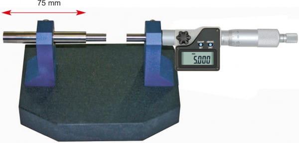 75mm Universal-Messstand Mit Digital-Einbau-Mikrometer