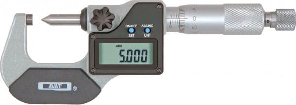 0 - 25mm Digital-Messschrauben Mit Kegelspitze