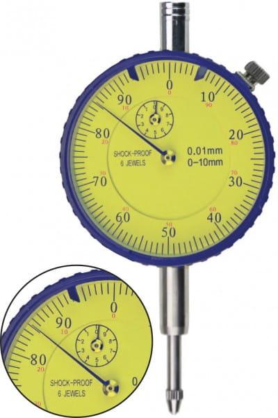 10mm Messuhren Mit Stossschutz, DIN 878, 10 mm