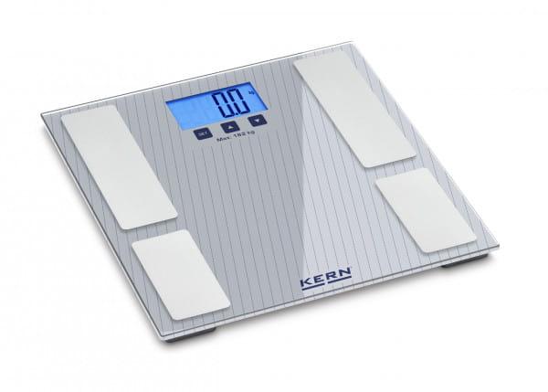 Körperfettwaage KERN MFB 150K100S05, Wägebereich 182 kg, Ablesbarkeit 100 g