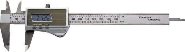 200mm Digital-Taschen-Messschieber Mit Solarzelle