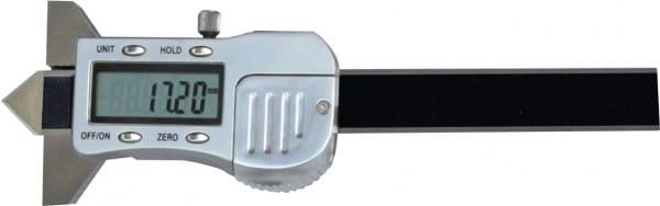 12mm Digital-Messschieber Zur Messung Von Absenkung 90°