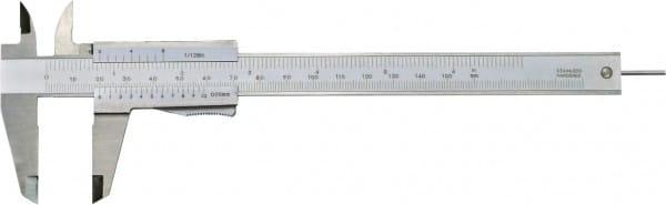 150mm Taschen-Messschieber Mit Rundem Tiefenmass, DIN 862