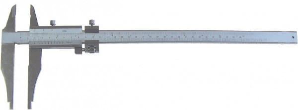 250mm Werkstatt-Messschieber, Leichte Ausführung