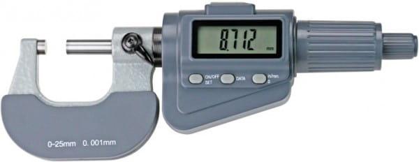 50 - 75mm Digital-Bügelmessschrauben Mit Friktionsratsche, DIN 863
