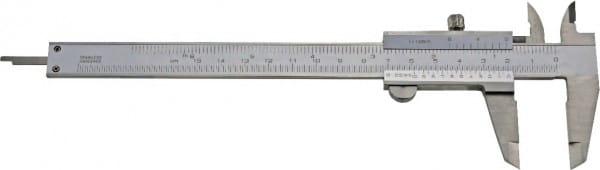 150mm Taschen-Messschieber Für Linkshänder, DIN 862