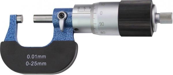 25 - 50mm Bügelmessschrauben Mit Grosser Trommel, DIN 863