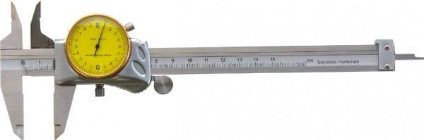 150mm Uhren-Messschieber Mit Verdeckter Zahnstange , DIN 862, Top