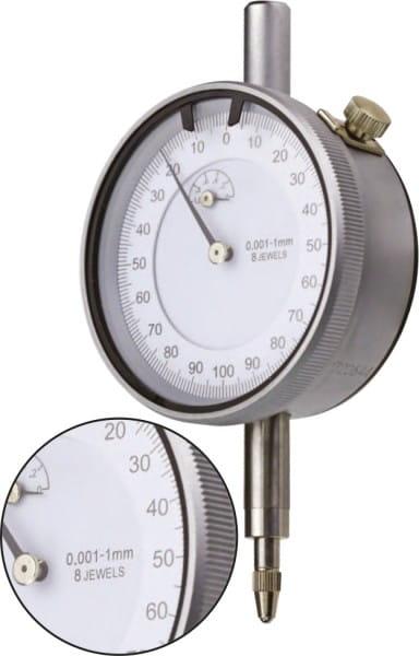 1mm Messuhr Mit Ablesung 0,001 mm