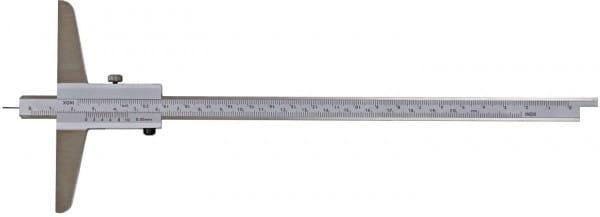 300mm Tiefen-Messschieber Mit Stiftspitze, DIN 862, Mit Umsteckbarer Messstange