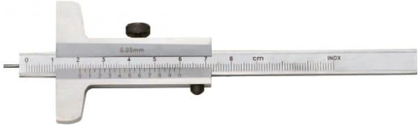 80mm Tiefen-Messschieber Mit Stiftspitze, DIN 862