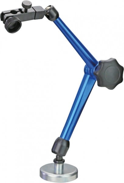 310mm Magnet-Messstativ Mit Zentralklemmung Und Dauermagnet-Fuss