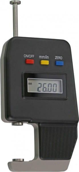 0- 15mm Digital-Dicken-Messgerät Mit Teller-Messflächen