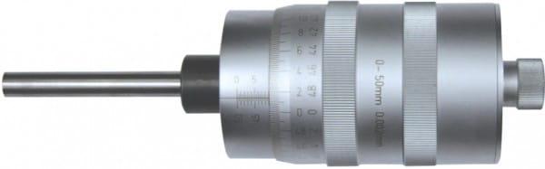 0 - 50mm Einbau-Messschrauben, Mit Grosstrommel, DIN 863