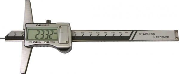 250mm Digital-Tiefen-Messschieber Mit Stiftspitze Ø 1,5 X 6 mm, DIN 862