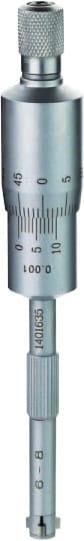8 - 10mm Dreipunkt-Innen-Messschrauben, DIN 863