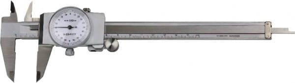 200mm Uhren-Messschieber DIN 862
