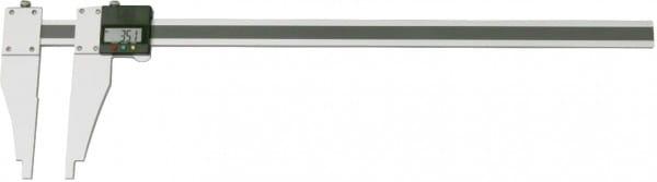 500mm Digital-Werkstatt-Messschieber Aus Aluminium, Mit Verschiebbarem Schnabel