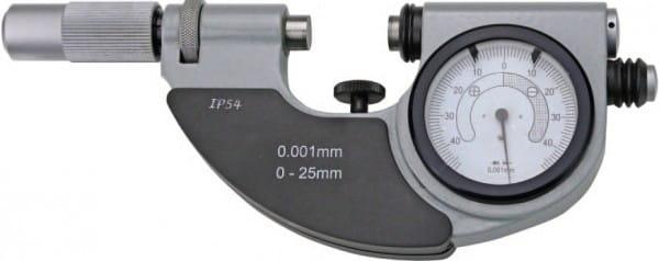 0 - 25mm Bügelmessschrauben Mit Feinzeiger