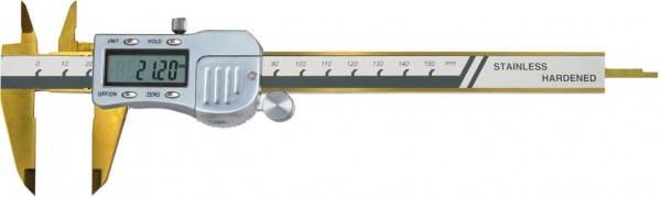 150mm Digital-Taschen-Messschieber, Metallgehäuse, DIN 862