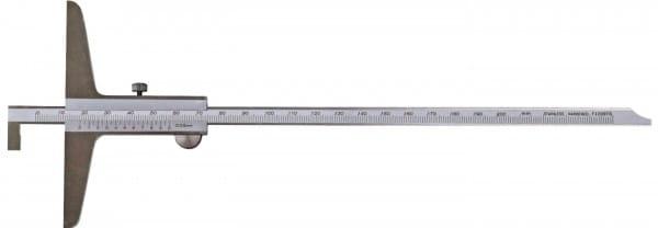 200mm Tiefen-Messschieber Mit Umsteckbarer Stange, DIN 862