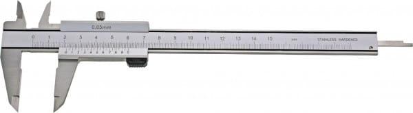 200mm Taschen-Messschieber, Parallaxfrei, DIN 862