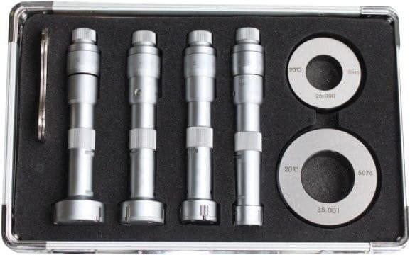 20 - 40mm Dreipunkt-Innen-Messschrauben-Satz, DIN 863