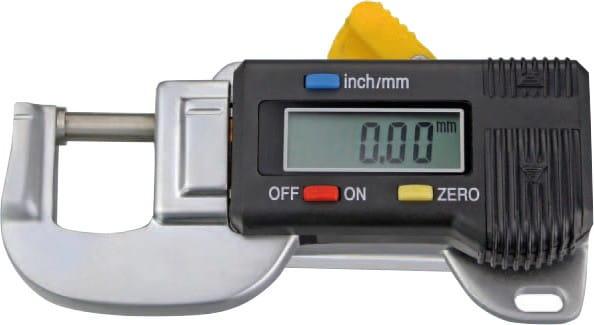 0 - 12mm Digital-Dicken-Messgerät
