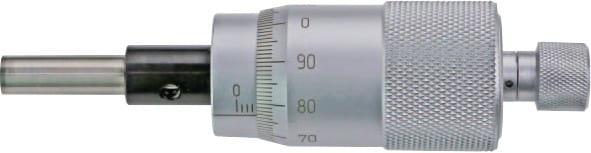 0 - 25mm Einbau-Messschrauben, Mit Grosstrommel, DIN 863