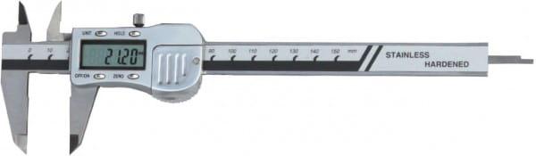 200mm Digital-Taschen-Messschieber, Metallgehäuse, DIN 862
