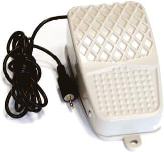 Externer Fußtaster, Klinkenstecker ø 2,5/ external foot switch, phone jack ø 2.5 mm Usb-Interface Für Anschluss An Pc