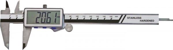 150mm Digital-Taschen-Messschieber, Extra Grosse Anzeige, DIN 862