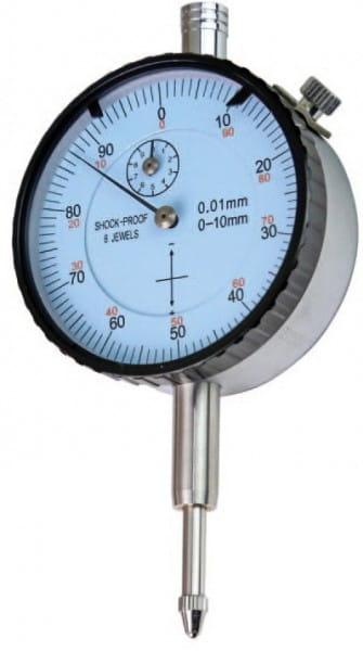 10mm Messuhr Mit Umgekehrter Skalierung, 10 mm