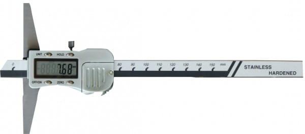 200mm Digital-Tiefen-Messschieber, DIN 862