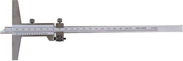 300mm Tiefen-Messschieber Mit Feineinstellung, DIN 862