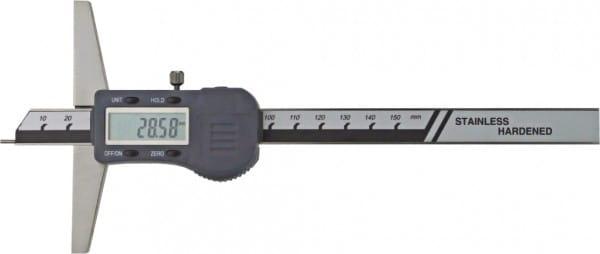 150mm Digital-Tiefen-Messschieber Mit Stiftspitze Ø 1,5 X 6 mm, DIN 862