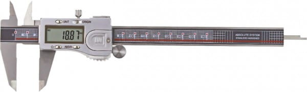 200mm Digital-Taschen-Messschieber, Absolut-System, DIN 862