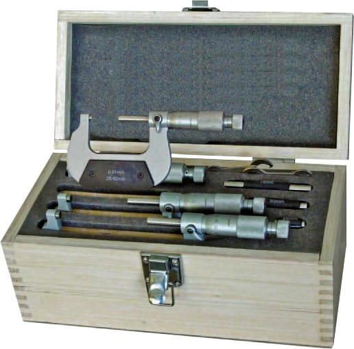 100 - 200mm Bügelmessschrauben Nach DIN 863