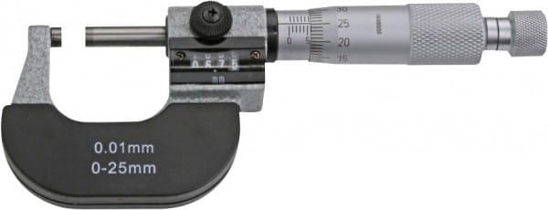 0 - 25mm Bügelmessschrauben Mit Zählwerk, DIN 863