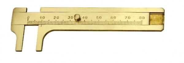 80mm Messschieber Aus Messing