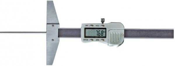 150mm Digital-Tiefen-Messschieber, Mit Runder Tiefenmessstange